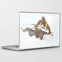 jack frost Laptop & iPad Skins featuring Jack Frost by @Milre_art