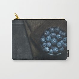 Blueberries on the dark Carry-All Pouch