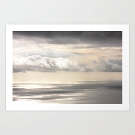 Painterly View - from Funchal Madeira - JUSTART © Art Print