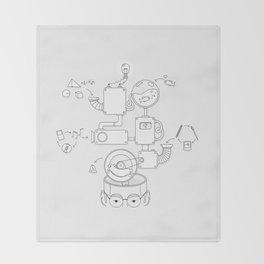 How the creative brain works? Throw Blanket