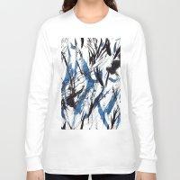 flight Long Sleeve T-shirts featuring FLIGHT by Teresa Chipperfield Studios