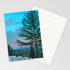 VT Cabin View Stationery Cards