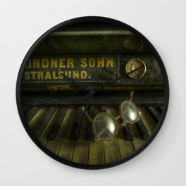 AN eye for music Wall Clock