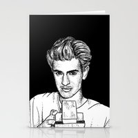 garfield Stationery Cards featuring Andrew Garfield by Sharin Yofitasari