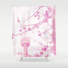 Flirty Tower Shower Curtain