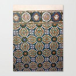 Segovia Tile Canvas Print