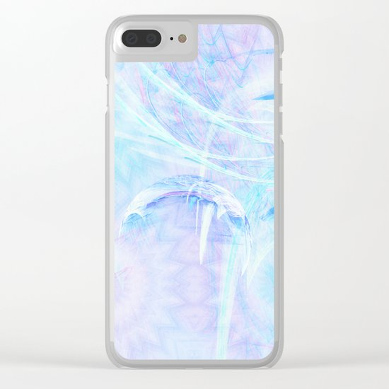Delicate fairy world Clear iPhone Case