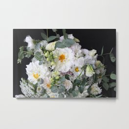 Light and Lovely Bouquet Metal Print