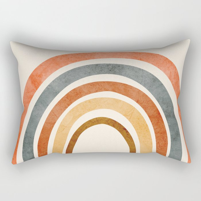 Abstract Rainbow 88 Rectangular Pillow