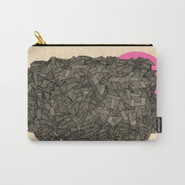 - obscure the pink shade of the sun - Carry-All Pouch