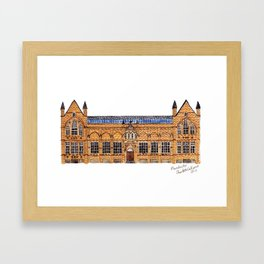 The Holden Gallery in Manchester by Charlotte Vallance Framed Art Print