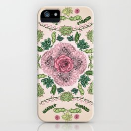 Flower Lace III iPhone Case