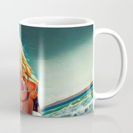 The Beach Lady Coffee Mug
