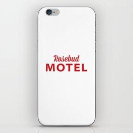 Rosebud Motel iPhone Skin
