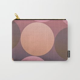 Pink Shadows Moon Carry-All Pouch
