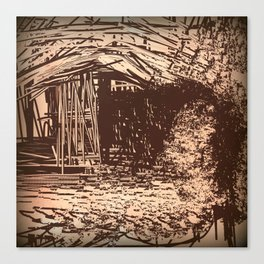 Hidden Shack Canvas Print