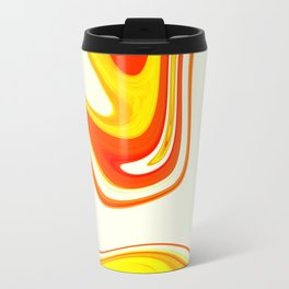 Abstract Fluid 18 Travel Mug