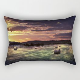 Strange Fields Rectangular Pillow