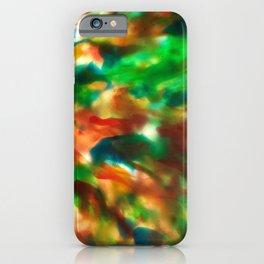Tie Dye Recycle #preciousplastic iPhone Case
