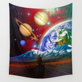The Hitchhiker Wall Tapestry