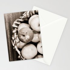 Bowl of apples Stationery Cards