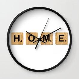 Scrabble - Home Wall Clock