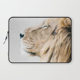 Lion Portrait - Colorful Laptop Sleeve
