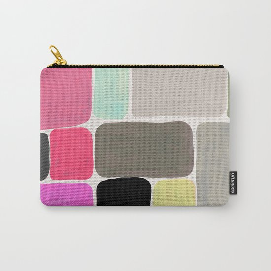 colour + pattern Carry-All Pouch