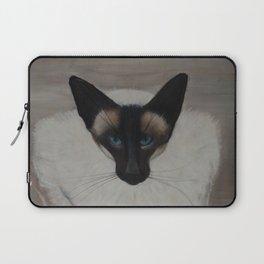 The Siamese Cat Laptop Sleeve