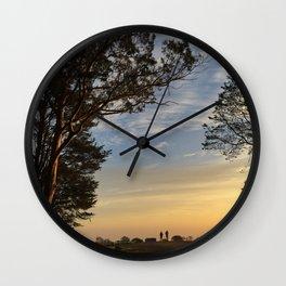 Mt. Davidson Sunrise Wall Clock