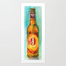 Magic Hat Beer Art Print