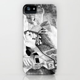 Handscape Takes Flight iPhone Case