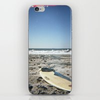 surfboard iPhone & iPod Skins featuring Surfboard by NoGoPhoto