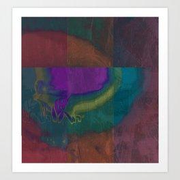 Philosopher & Fool - Organic Art Print