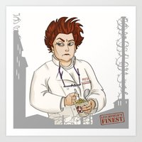 oitnb Art Prints featuring Red OITNB by StephDere