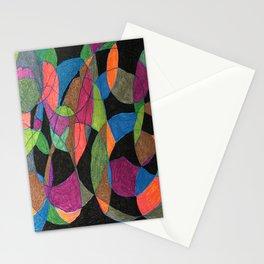 Intertwining Circles Stationery Cards