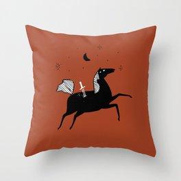 Good Courage Throw Pillow