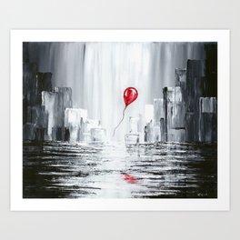 Lonesome Traveler Art Print