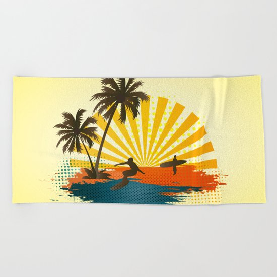 Surfers Beach Towel