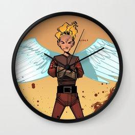 Angel Boy Wall Clock
