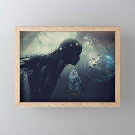 Scent of wisdom Framed Mini Art Print