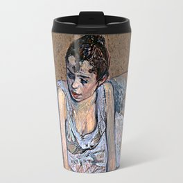 Dancer in Pink Tights Travel Mug