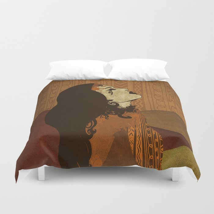 Ethnic.. Duvet Cover