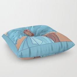 December Floor Pillow