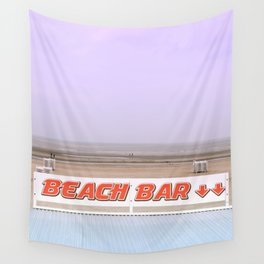 Rendez-Vous To The Beach Bar Wall Tapestry