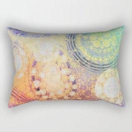 Circles Carnival Rectangular Pillow