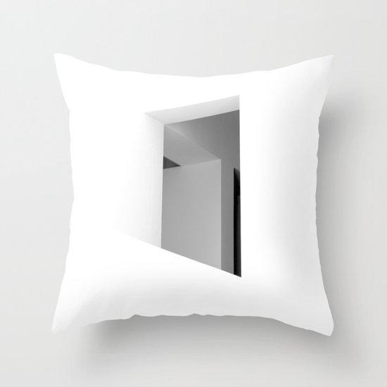 There. Macba, Barcelona Throw Pillow