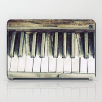 piano iPad Cases featuring piano by hilde.