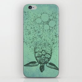 Into_The_Sea iPhone Skin