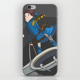 Nausicaa (of the valley of the wind) iPhone Skin